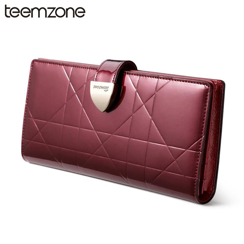 European Style Fashion Women's Genuine Leather Hasp Wallet Lady Card Purse Handbag Checkbook Phone long Wallet Photo Purse Q446 casual weaving design card holder handbag hasp wallet for women