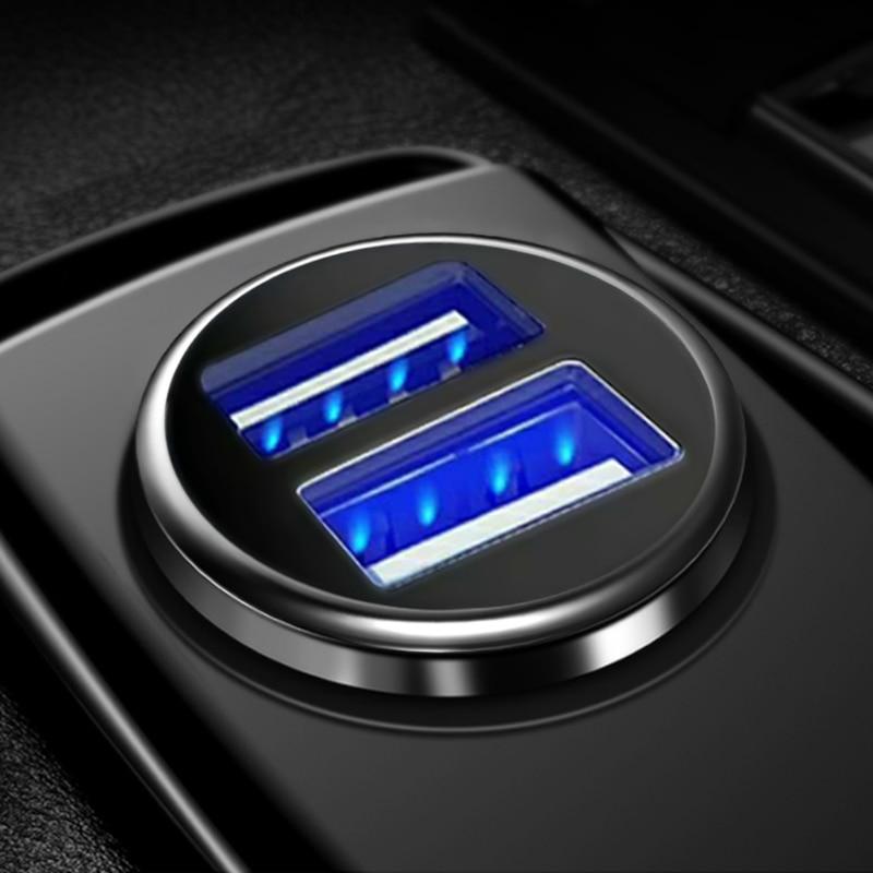 3.1a 2 portas carregador duplo usb isqueiro do carro soquete com tensão de carregamento display lcd usb adaptador de alimentação carregador 12v 24v