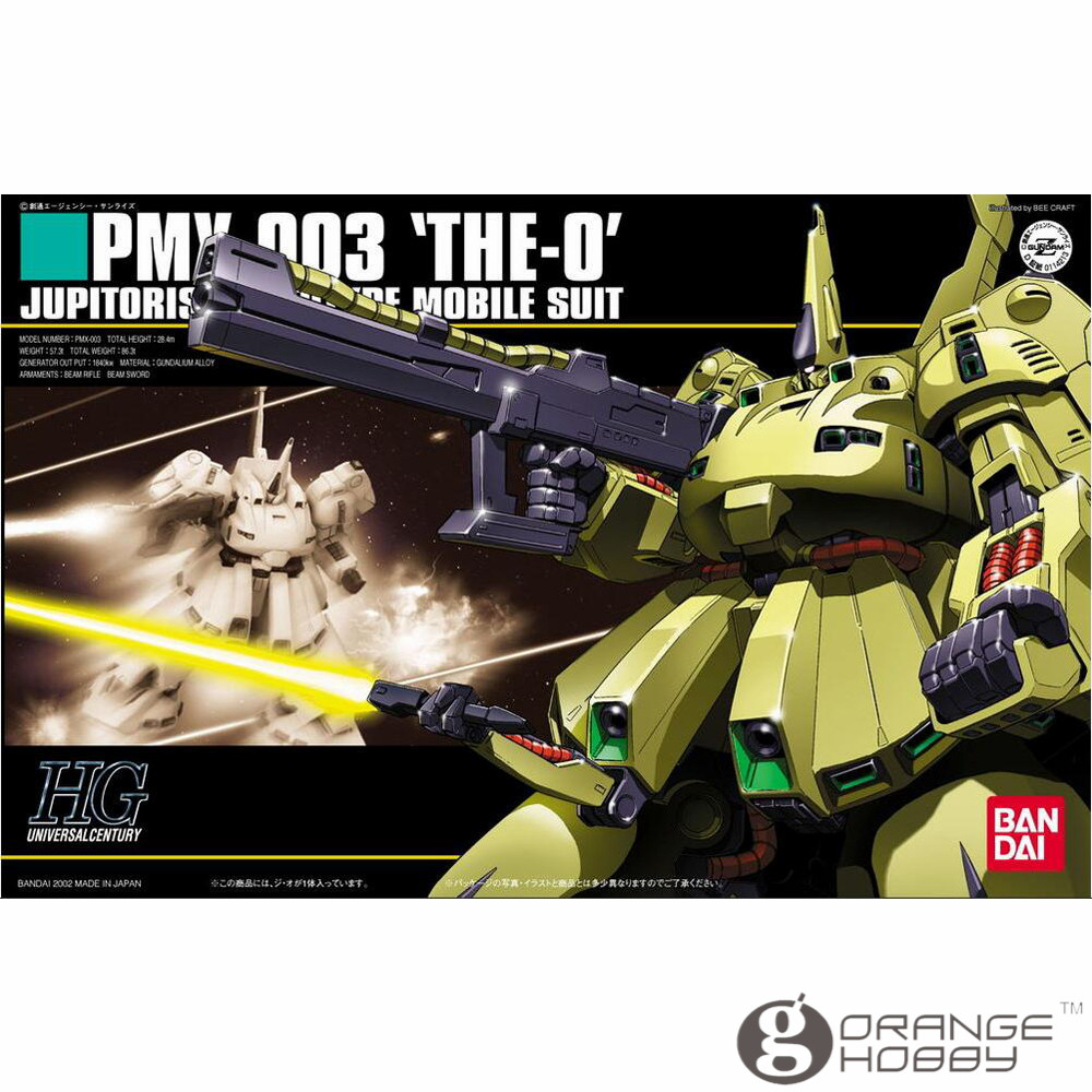 OHS Bandai HGUC 036 1/144 PMX-003 THE-O Mobile Suit Assembly Model Kits ohs bandai hguc 116 1 144 msn 06s sinanju mobile suit assembly model kits