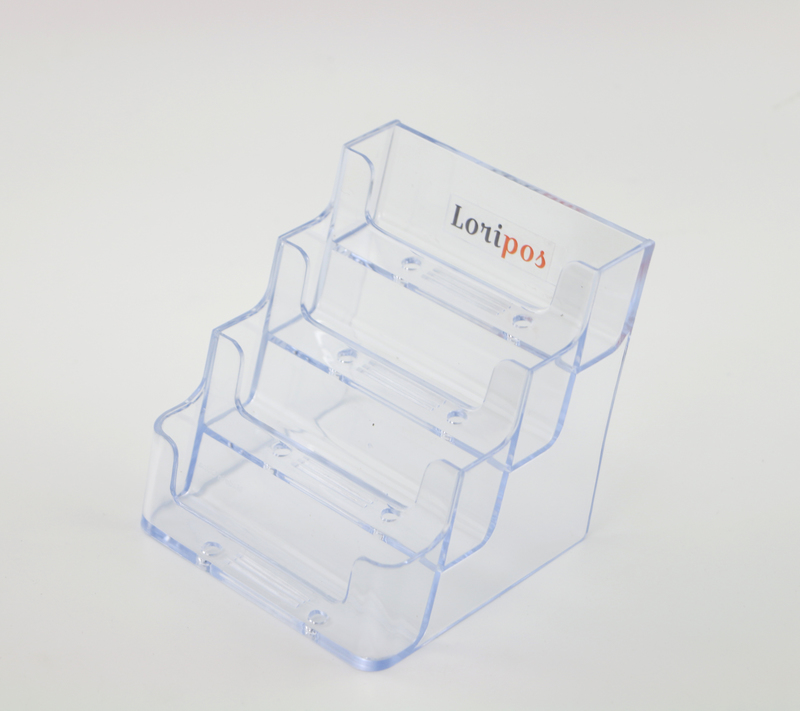 Four Layers Clear Office Exhibition Business Card Holders Name Card ...