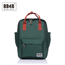 New Arrival Women Backpack Preppy 10  L Laptop Waterproof Oxford Zipper Fashion Backpacking Teenager Girl's School Bag S15008-6 fashion backpack teenager girl s school bag pattern 8848 brand backpacks soft handle 10 l capacity preppy style casual s15008 5
