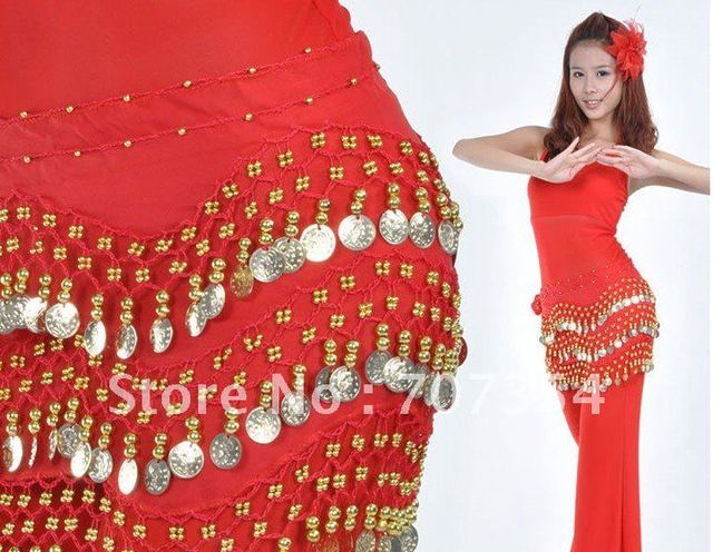 158 coins Belly dance waist chains Belly dance waist  Wholesale+Free shipping!