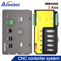free shipping cnc controller 3 axis woodworking machine controller +computer+software+10.4 inch Industrial display touch screen