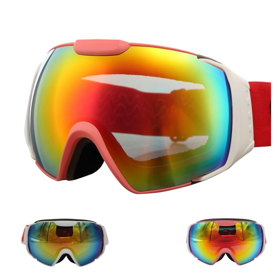 Prix pour Peut Être Porté À Myopie UV400 Ski Lunettes Mâle et Femelle D'hiver Sports de Plein Air Ski Lunettes CR603