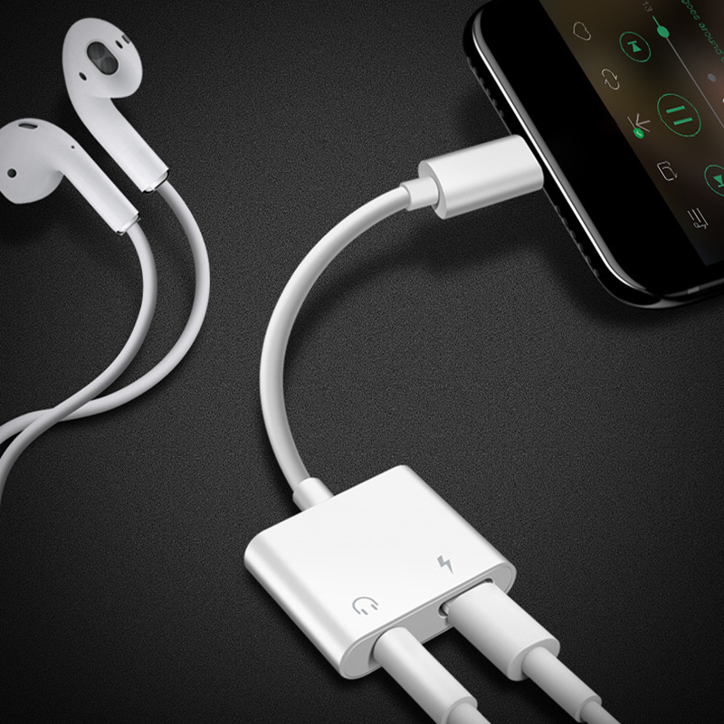 Aux Cord - iPhone Adaptor & Charger 1