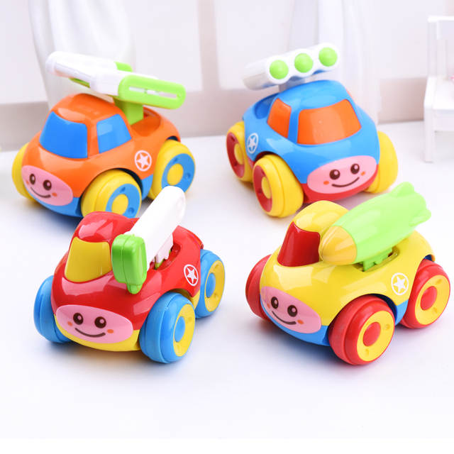 Online Shop Baby Toy 6 12 Month Cartoon Inertia Toy Car Small Toy