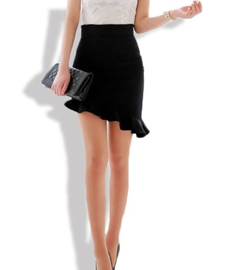 Ruffle Skirt Black Promotion-Shop for Promotional Ruffle Skirt ...