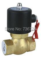 1 1/2 Solenoid Valve Water Air N/C 12V 24V 110V 220V steam valves solenoid valves