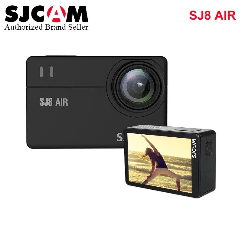 В наличии! SJCAM SJ8 Air 1296P спортивная камера водонепроницаемая анти встряхивание двойной сенсорный экран 8 * Цифровой зум WiFi Пульт дистанционног