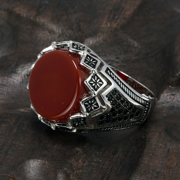 e1498251ad71 Gran Turco anillos para los hombres garantizado 925 anillos de plata Cool  Retro Vintage hombre anillos