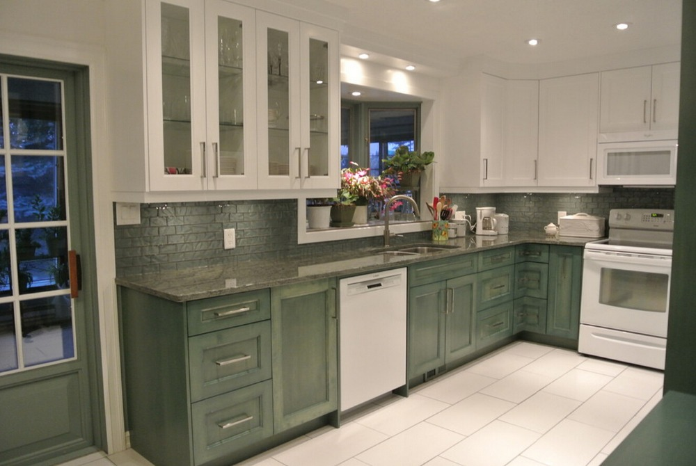 2019 discount solid wood kitchen cabinets customized made