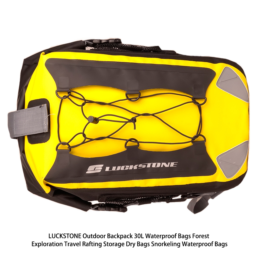 LUCKSTONE Outdoor Backpack Waterproof <font><b>Bags</b></font> Forest Exploration Travel Rafting Storage Dry <font><b>Bags</b></font> Snorkeling Waterproof <font><b>Bags</b></font> 30L