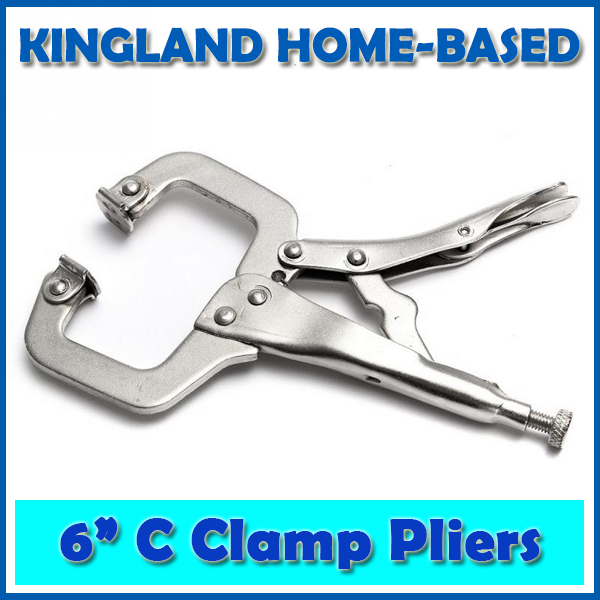 Fast Shipping C clamps Hand Pliers 6