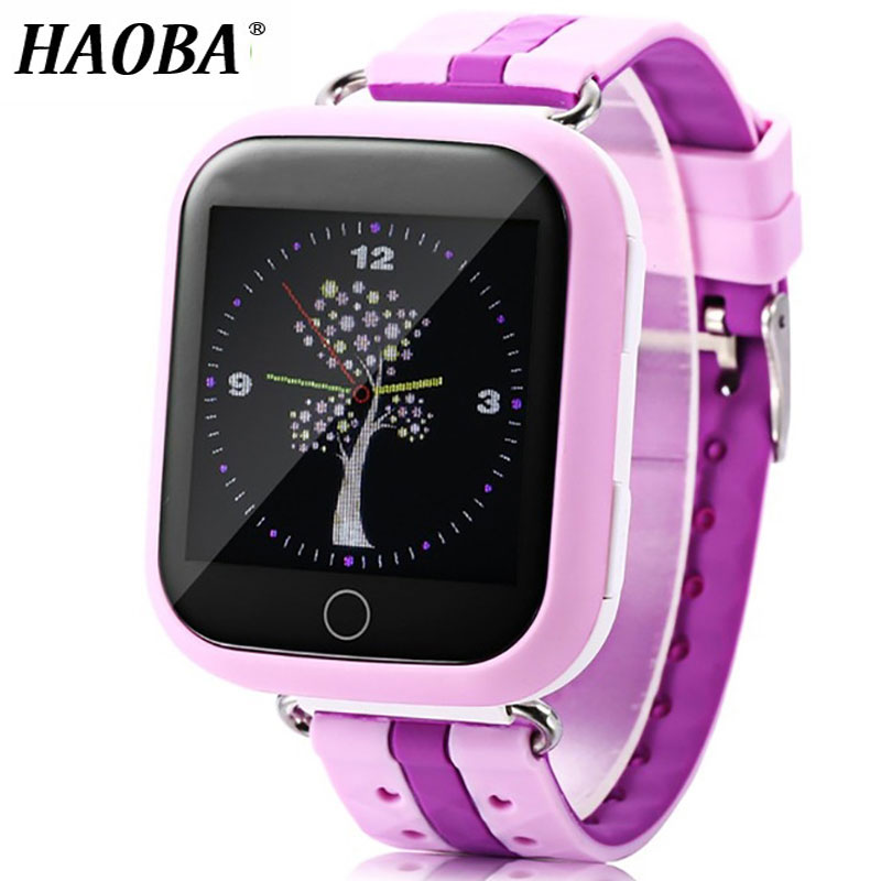 HAOBA Smart Watch Child Watch Phone WIFI 2G GPS Tracker SIM Card SOS Smartwatch For Kids Safe IOS Android Xiaomi Samsung phone diggro 2g 1 44 inch touch kids gps tracker smart watch with camera 2g sim calls chat anti lost sos remote children safety monitor health helper flashlight for android ios three colors