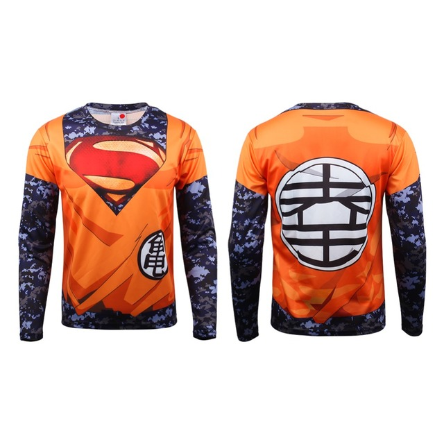 Ball Z 3D Dragon Ball Superhero Shirt (2 Types)