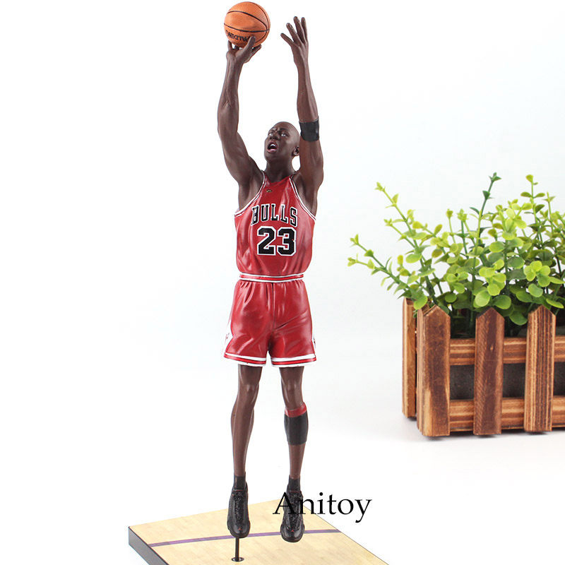 Michael Jordan Chicago BULLS 23 Action Figure Toy PVC UpperDeck Collection Model Dolls Christmas Present Toys for Boys michael mcdonald this christmas live in chicago