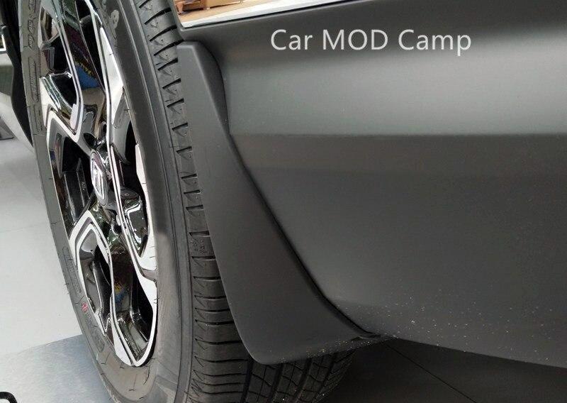 For Honda For CRV CR V Fifth Generation 2017 2018 Plastic Front Rear Mudflaps Mud Fender