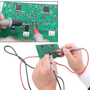 Image 5 - 1 זוג סיליקון חוט עט יוניברסל בדיקה הובלות פין עבור דיגיטלי מודד מחט טיפ רב מטר בודק בדיקה 20A 1000V חדש