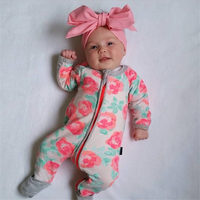 Autumn Winter Newborn Baby Boy Clothes 2016 Baby Girl Clothing Jumpsuit Romper Infant Costume Sleepwear Pajamas