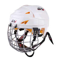 1 Pc Ice Hockey Helmet Soft EVA Liner with Steel Cage for Player Hockey Face Shield CE Certification