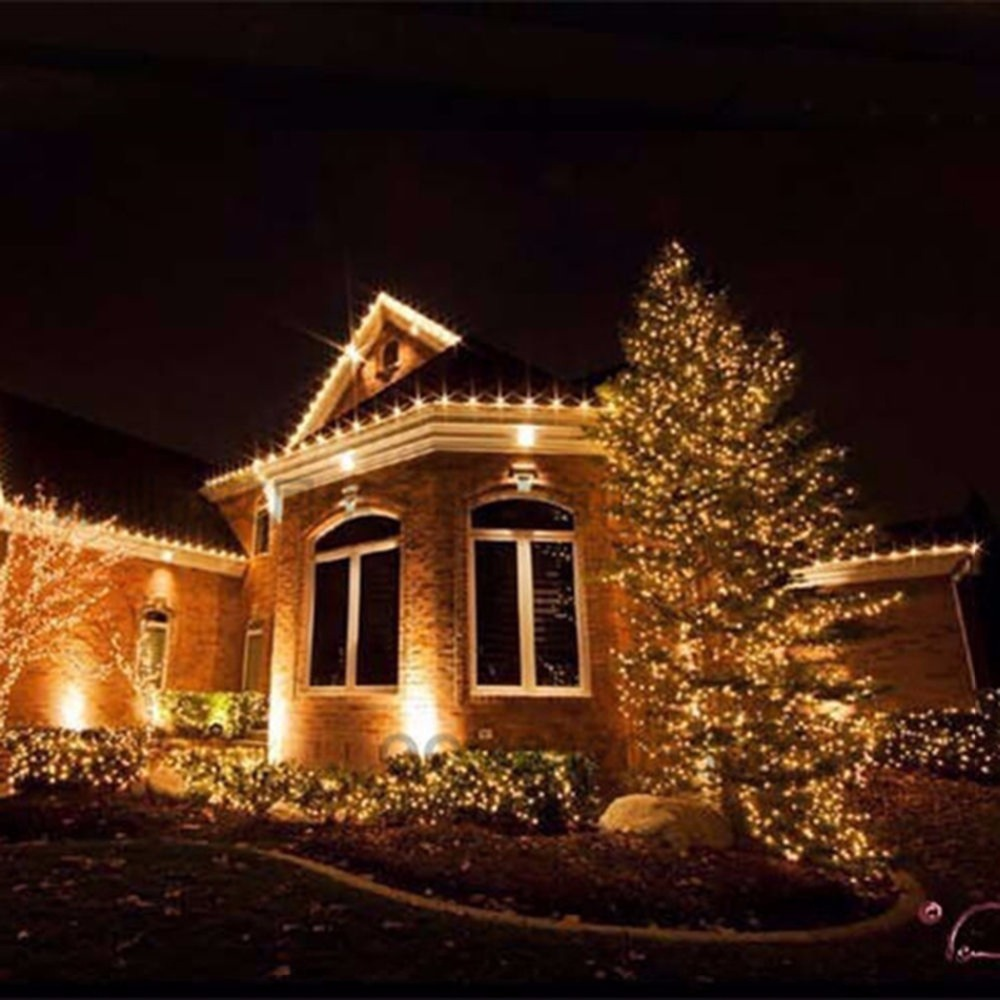 4m 40 ball string light christmas battery power source fairy indoor outdoor holiday wedding lights light