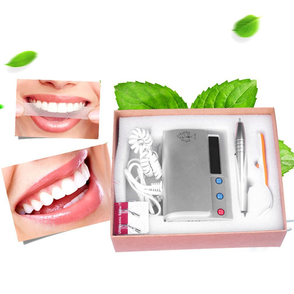 Portable Size Waterfree Ultrasonic Oral Irrigator Intelligent Teeth Cleaning Machine Household Dental Equipment For Tooth Care pro teeth whitening oral irrigator electric teeth cleaning machine irrigador dental water flosser teeth care tools m2