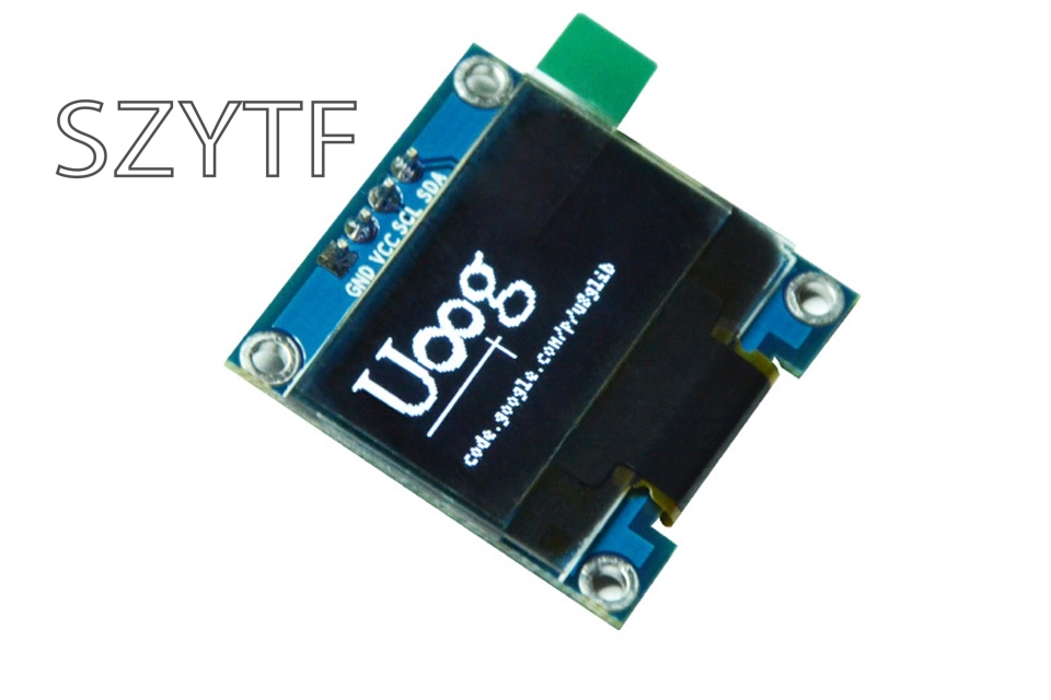0.96 inch OLED display 12864 LCD white screen module IIC interface display screen for arduino