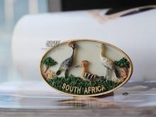 South Africa Safari Wildlife Memorial Fridge Magnet все цены