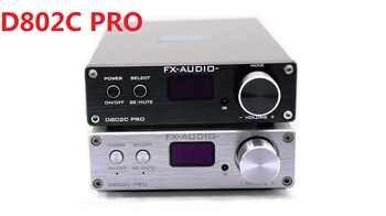 2019 FX-Audio New D802C PRO Bluetooth@4.2 APTX Full Digital Amplifier Input USB/AUX/Optical/Coaxial 24Bit/192KHz 80W*2 DC32V/5A - DISCOUNT ITEM  5% OFF All Category