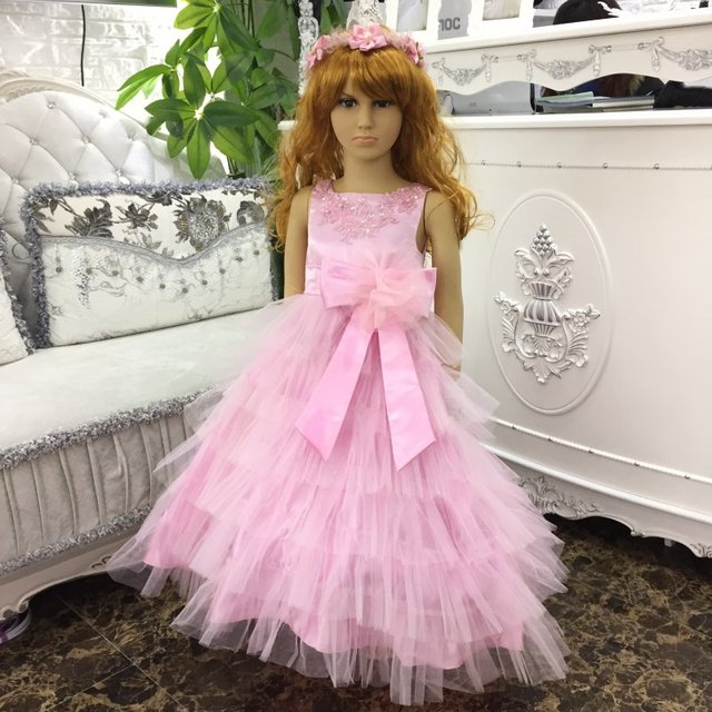 2018 New Arrival Kids Ball Gowns For 2 10 Years Girl party Dress ...