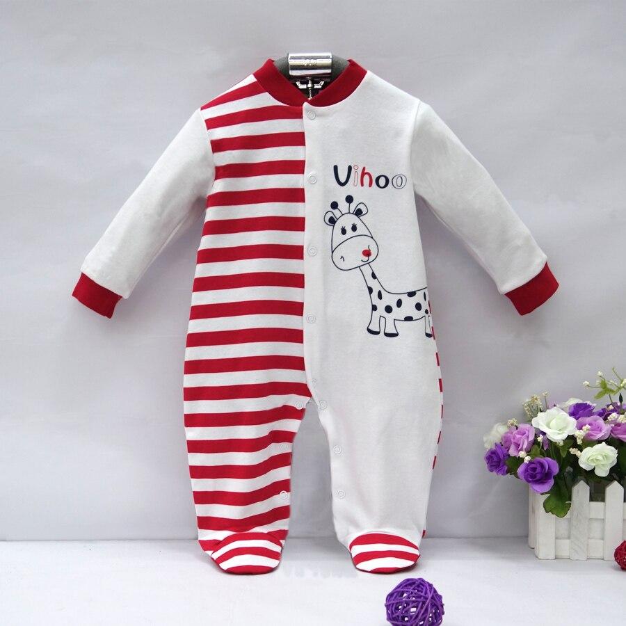 2019 Pure Cotton Newborn Boy Romper Baby Girl Clothes Cute -9514
