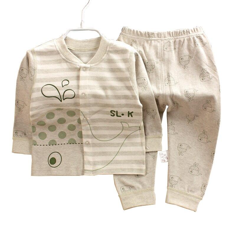Ballena pequeña, algodón de color saludable, bebé, primavera e - Ropa de bebé