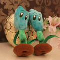 Plant Vs Zombies 2 28cm Blue Lighting Reed Plush Toys Dolls,1pcs/pack
