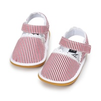 Fashion Newborn Girl Baby Retro Printed First Walker Toddlers Kids Soft Bottom Shoes