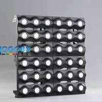 Free Shipping 2Units 36x3W Warm White LED DMX Pixel Golden Matrix Beam Light DJ Disco Party Wedding Event Panel Stage Led Lights