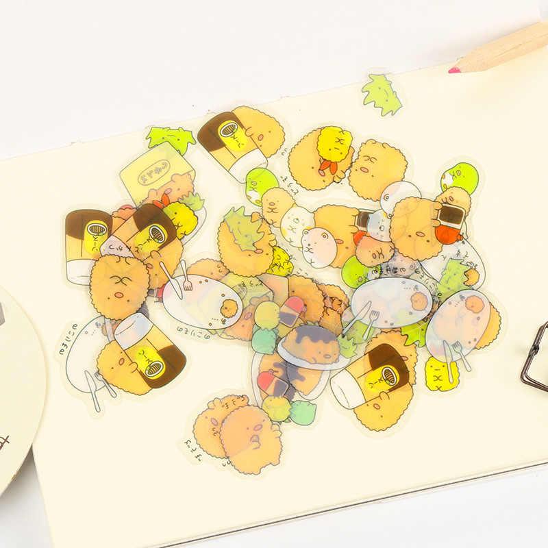 Kawaii Sumikko Gurashi Diary Label Stickers Pack Decorative Mobile PVC Stickers Scrapbooking DIY Stickers Escolar Papelaria