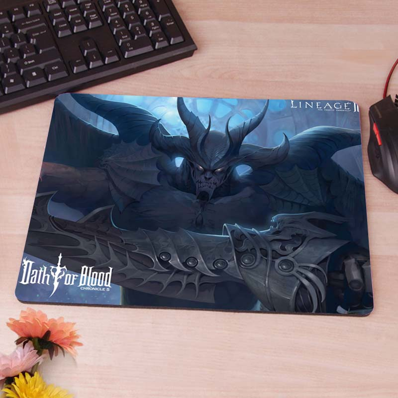 MaiYaCa lineage 2 oath of blood Silicon Anti-slip Mouse Mats