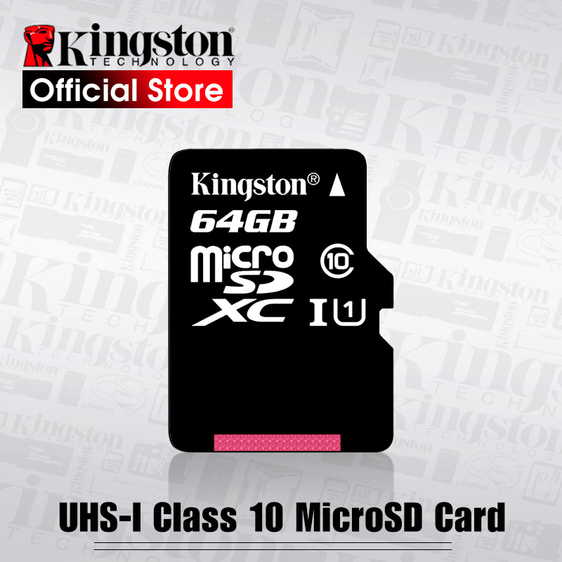 Kingston Memory-Card Microsd UHS-1 Tf/sd-Cards Class10 Smartphone 128GB 32GB 16GB 64GB title=