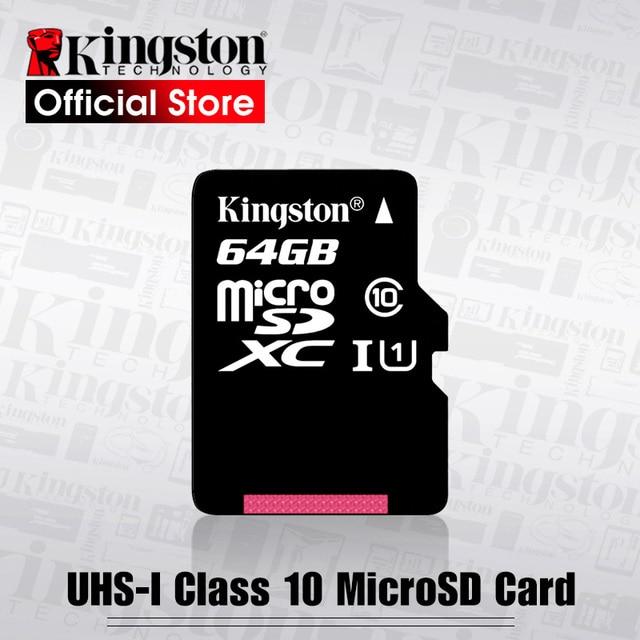 Kingston flash Memory Card 128GB 64GB 32GB 16GB Micro sd card Class10 UHS 1 8G C4 Microsd TF/SD Cards for Smartphone