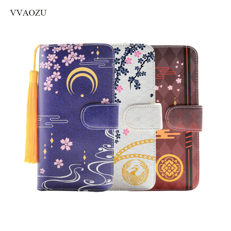 Game Cartoon Touken Ranbu Online Women Long Wallet PU Leather Japanese Style Students Wallets Card Holder Coin Purse Girls Gift image