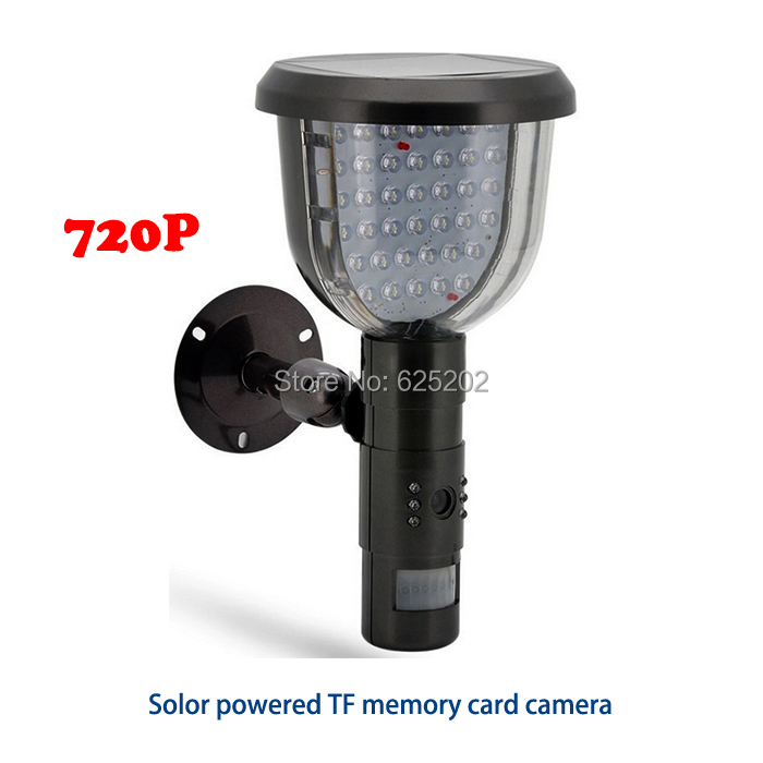 2016 Factory Direct Sale 720P Solor TF Card Camera System 2016 Factory Direct Sale 720P Solor TF Card Camera System