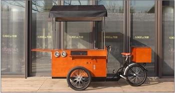 KN-T04D Aliexpress proveedor de oro no eléctrico bicicleta para cafés remolque eléctrico bicicleta para cafés
