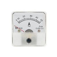 50a ac 전류 아날로그 패널 미터 측정 도구 new