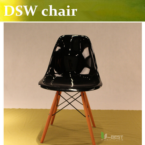 free shipping u best high quality dsw chair black plastic dining chairdining ch177 natural side chair walnut ash