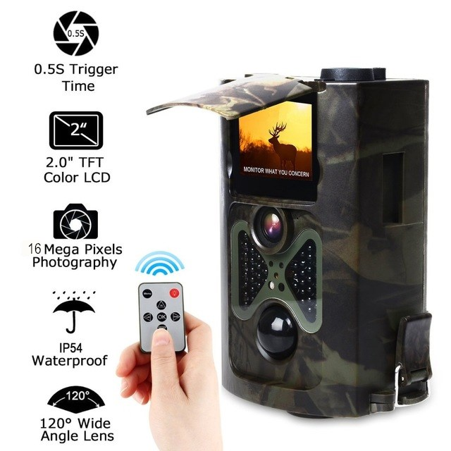 HC550A 16MP 1080P HD Wildlife camera photo-traps hunting trail camera Ghost Deer Forest wildcamera HC550A Laser hunter camera