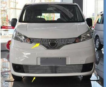 2010-2013 Nissan NV200 kaliteli paslanmaz çelik araba ön tampon örgü ızgarası etrafında döşeme yarış izgaralar
