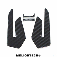 3D carbon fiber color motorcycle accessories motorcycle decal sticker tank pad for yamaha mt 07