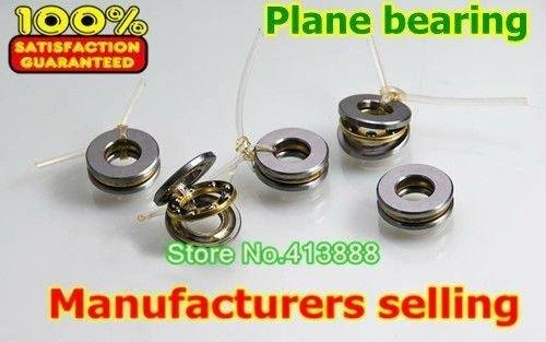 (1pcs) Axial Ball Thrust Bearings F5-10M <font><b>5*10*4</b></font> mm Plane thrust ball bearing image