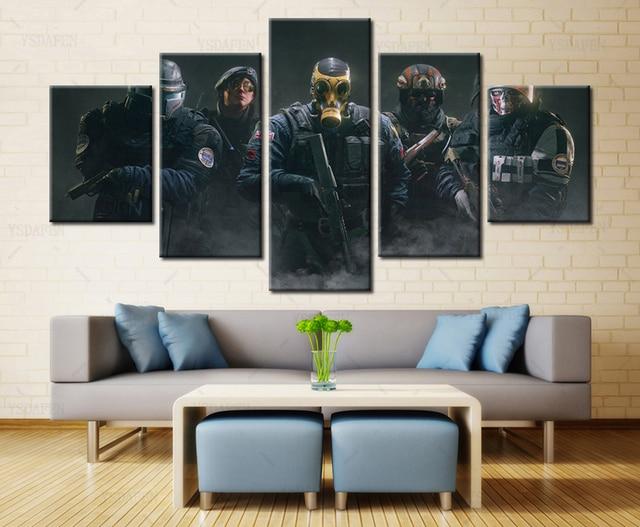 https://ae01.alicdn.com/kf/HTB1ehOfdC_I8KJjy0Foq6yFnVXaw/YSDAFEN-5-Panel-Movie-Poster-Regenboog-Zes-Siege-Team-Schilderdoek-Wall-Art-Picture-Home-Decor-Woonkamer.jpg_640x640.jpg