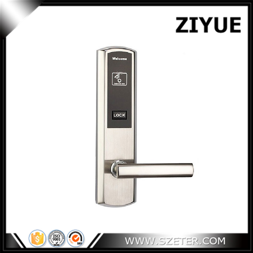 hotel card key smart  Hotel Lock Rfid Electronic Card Hotel Lock  ET811RF digital electric best rfid hotel electronic door lock for flat apartment